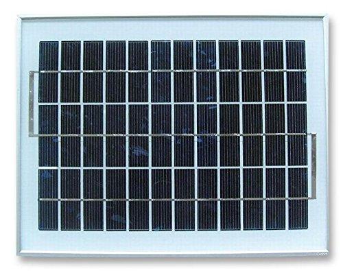 Panel solar 8W 17,5V 357x 280x 18mm En P Max actual: 460ma Altura: 18mm Longitud: 357mm Tensión de circuito abierto: 21,6V Potencia nominal: 8W Potencia Voltaje Max: 17.3V Corriente de cortocircuito: 510ma Ancho: 280mm Peso Min: 1.42kgRein...