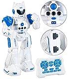 Playtastic Kinderroboter: Ferngesteuerter Spielzeug-Roboter mit Sound-Effekten, programmierbar (Raum-Tanzroboter)