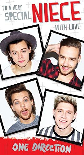 One Direction Nichte Geburtstag Grußkarte (Party-ideen One Direction)