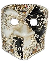 Máscara de media cara veneciana Bauta Tarjetas para hombres ...