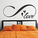 Símbolo de amor infinito woooowltd dormitorio de matrimonio cabecero TecGadgets dice...