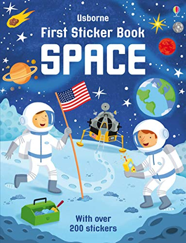 First Sticker Book Space por Sam Smith