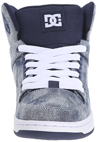 DC Shoes Rebound High Se, Baskets mode femme Denim