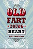 Hotchpotch Birthday card - Old Fart young at heart Happy Birthday