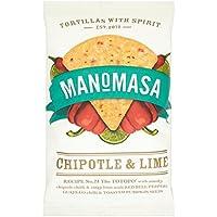 Manomasa Chipotle y de la cal Tortilla Chips 160g
