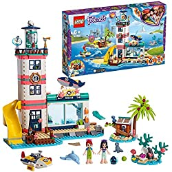 LEGO® -Le Centre de Sauvetage du Phare Friends Jeux de Construction, 41380, Multicolore