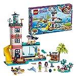 LEGO Friends IlFaroCentrodiSoccorso, Set con Clinica Veterinaria a 4 Piani con Le Mini-Doll diMiaedEmma, con Figure di Animali, 41380 LEGO