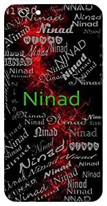 Ninad (Humming) Name & Sign Printed All over customize & Personalized!! Protective back cover for your Smart Phone : Samsung I9300 Galaxy S III ( S-3 )