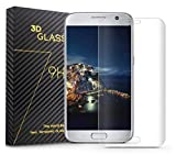 Da.Wa 1 Stück PreForm Schutzfolie Display schutz Screen protector für Galaxy S7 Edge