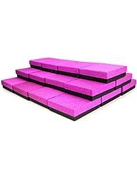 RUBY- 24 Cajas Regalo Joyeria,para presentación de joyas, Caja de regalo con purpurina 9cm x 9cm ENVIO URGENTE DESDE ESPAÑA