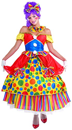 Adult Belle of the Big Top Clown Costume Fancy Dress