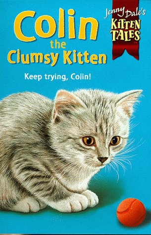 Colin the clumsy kitten