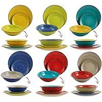 piatti colorati - Ceramica: Casa e cucina - Amazon.it