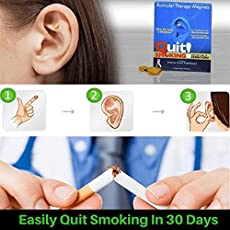 Quit Smoking-Anti Smoking Magnets- Auricular Therapy Magnets