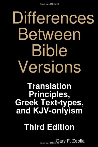 Differences Between Bible Versions: Third Edition