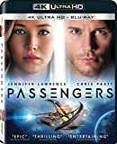 Passengers 2017 4K Ultra HD Blu-ray + Blu-ray Available now Region free