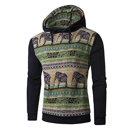 Camouflage Sweatshirts Herren Briskorry Männer Herbst Winter Pullover Strickjacke Mantel mit Kapuze Reißverschluss Patch Streetwear Jacke Outwear