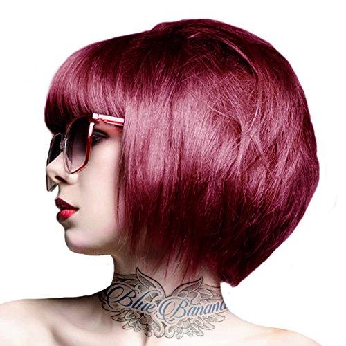 Crazy Color Coloration Pour Cheveux Semi-Permanente 100ml (Rouge Cyclamen)