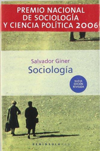 Sociologia (Historia, Ciencia Y Sociedad) por Salvador Giner