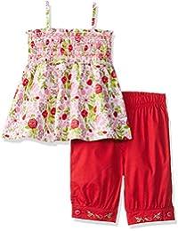 nauti nati Baby Girls' Clothing Set (Pack of 2)