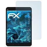 atFolix Schutzfolie kompatibel mit Xiaomi Mi Pad 2 Folie, ultraklare FX Bildschirmschutzfolie (2X)