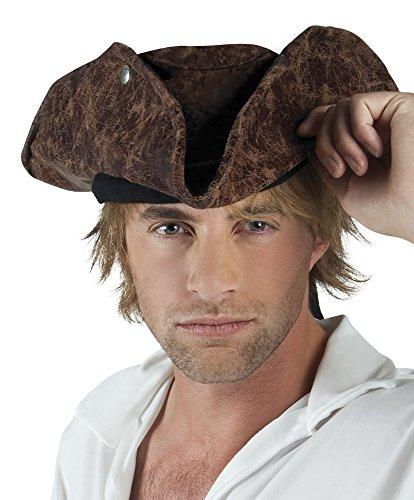 erdbeerclown - Piraten Hut Dreizack Neptun Kostüm , (Kostüm Dreizack Neptun)