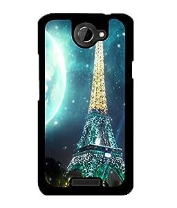 Fuson 2D Printed Designer back case cover for HTC One X - D4510