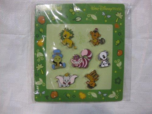 7 Piece Disney Pin Starter Set Baby Animals 2010 by Disney (Set Disney Pin)