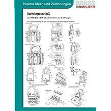Vorhängeschloß, über 1800 Seiten (DIN A4) patente Ideen und Zeichnungen