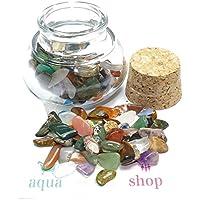 budawi® - Edelsteinmischung im Dekoglas ca. 60g, echte Edelsteine getrommelt Bunt gemischt preisvergleich bei billige-tabletten.eu