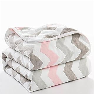 RFVBNM Quilt Le Coton et l'été est Une Seule Double Gaze Quatre Saisons Couverte de Coton Xia Liang était Une Couette de Couchage pour Enfant, Une couchette pour Enfant, K/90 * 100cm