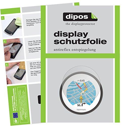 TomTom Vio Schutzfolie - 3x dipos Displayschutzfolie Folie matt