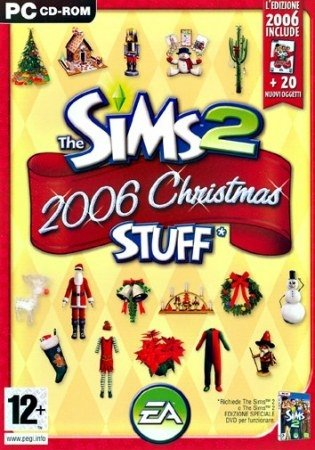 Electronic Arts The sims 2: christmas stuff, PC