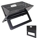 Barbecue grill pieghevole Parkfield T767 acciaio 30x46x31cm immagine