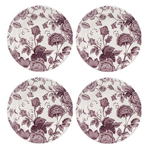 Spode KINWH0140 Salatteller, Keramik, 4 Stück -