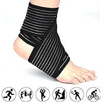 Filfeel - Rodilleras elásticas de compresión para Apoyo para piernas, Muslos, Tobillo y Codo reducen la hinchazón, Alivio de linfática, Ayuda a recuperar la Rodilla de cirugía de Repuesto