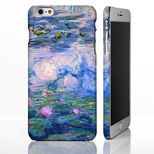 Classic Art Collection Case for iPhone 5/5S - Artwork 13: Water Lilies - Monet. 24 Famous Artists and Artwork Covers to Choose from. Hard Plastic Full Image Wrap Designer Cases from iCaseDesigner