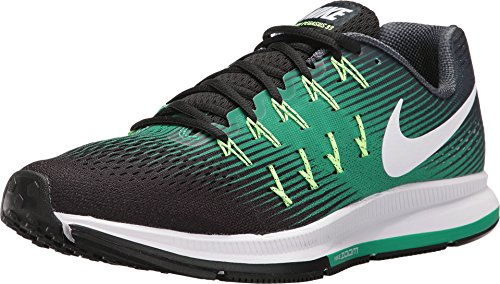 Nike Hombres Air Zoom Pegasus 33, ARMORY NAVY / WHITE-BLACK, 14 M US