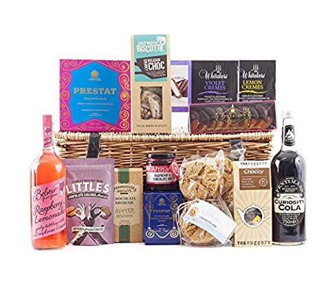 Chocoholic Hamper Deluxe | Non Alcoholic | Wickers Gift Basket