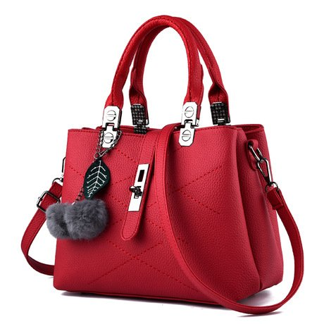 Mefly Nuova Borsa Borsetta Borsa Donna Affascinante Crimson Claret