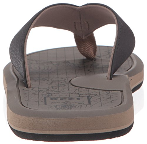 Herren Sandalen Reef Machado Day Prints Sandalen tan map