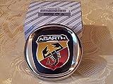 Wappen Logo für Fiat Grande Punto Abarth, Frontkühler, 100mm, Original-Ersatzteil