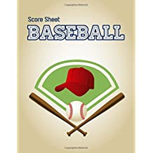 Baseball Score Sheet: Baseball Game Record Keeper Book, Baseball Score, Baseball score card has many spaces on which to record, Size 8.5 x 11 Inch, 100 Pages
