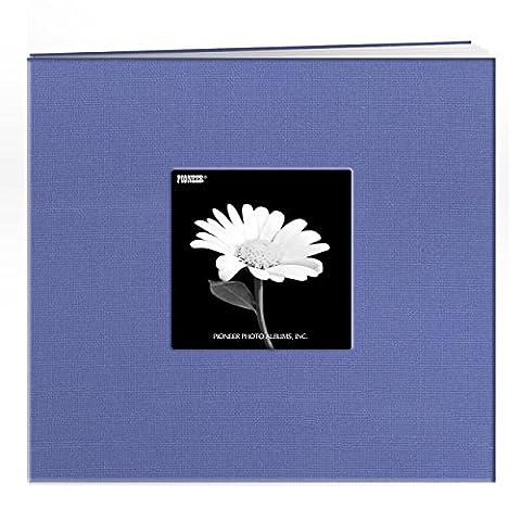 Pioneer Album photo relié avec fenêtre 30,5x 30,5cm Rouge, bleu ciel, 8