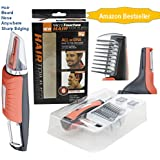 Sure2smile 2018 Heavy Duty Micro Precision Trimmer For Men And Women With German Blade For Beard, Hair, Nose And...