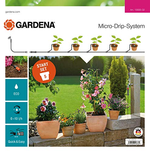 Gardena schonenden, wassersparenden