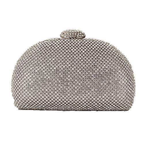 Deaman Abschlussbal Handbag Ladies Clutch Multicolor Optional Handtasche Freizeit Henkeltasche Festliche Abendtasche Abschlussbal