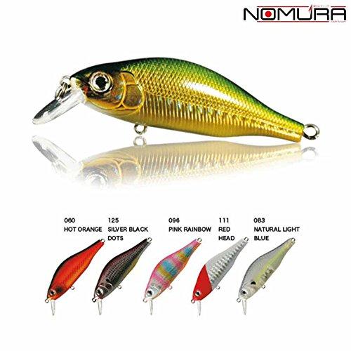 nomura-kit-5seuelos-artificiales-still-minnow-7cm-83gr