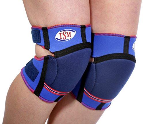 TSM Sportbandage Knieschoner Junior, Blau, One Size, 2152