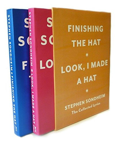 Hat Box: The Collected Lyrics of Stephen Sondheim: A Box Set (Broadway Musicals-box-set)